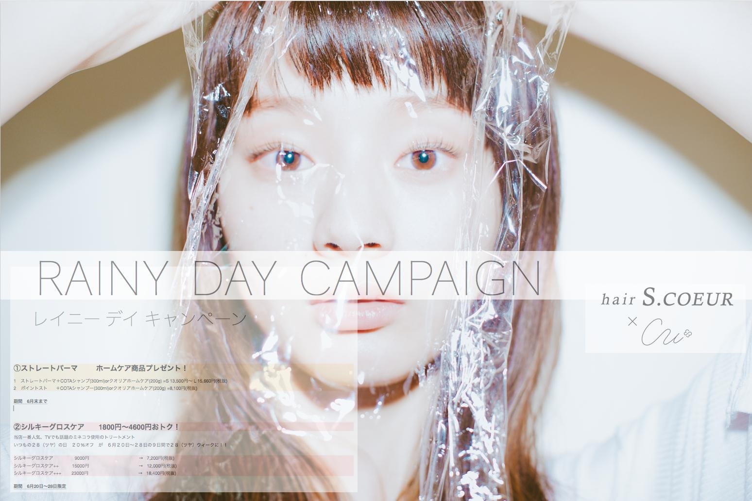 RAINY DAY CAMPAIGN